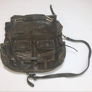 Junior Drake Leather Tote Bag